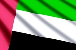 阿拉伯酋长管辖区团结了 库存例证