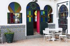阿拉伯酒吧 库存照片