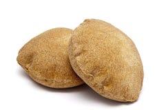 阿拉伯面包饮食sinn 免版税库存图片