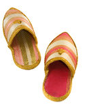 阿拉伯鞋子 图库摄影