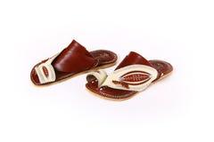 阿拉伯鞋底 库存照片