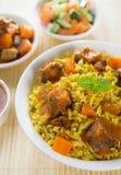 阿拉伯食物。 免版税库存照片