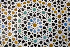 阿拉伯马赛克 图库摄影
