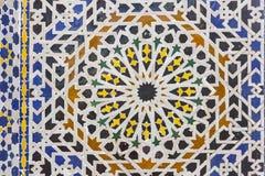 阿拉伯马赛克 免版税库存图片