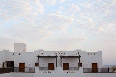 阿拉伯,东部建筑学,旅游业装饰,步的阴影 库存图片