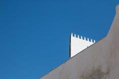阿拉伯建筑学,摩洛哥 免版税库存图片