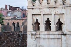 阿拉伯建筑学细节  库存图片