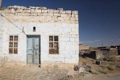 阿拉伯bosra房子叙利亚 免版税库存图片