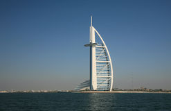 阿拉伯burj旅馆 库存图片