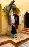 阿拉伯fashing的摩洛哥界面 免版税库存图片