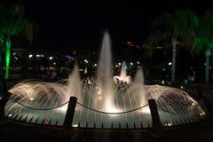 阿拉尼亚- Damlatas喷泉同水准 免版税库存照片