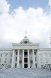 阿拉巴马大厦国会大厦状态 库存图片