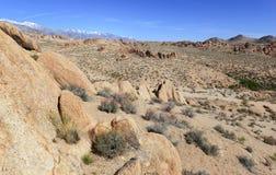 阿拉巴马小山,在复活节山脉 库存图片