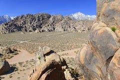阿拉巴马小山,在复活节山脉 图库摄影