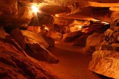 阿拉巴马洞穴rickwood 图库摄影
