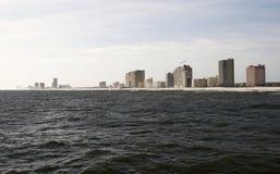 阿拉巴马海湾岸 图库摄影
