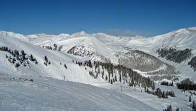 阿拉帕霍水池手段滑雪 库存图片