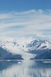 阿拉斯加冰川横向 免版税库存照片