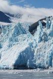 阿拉斯加冰川横向 库存图片