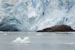 阿拉斯加冰川潮水 免版税库存图片