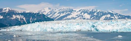 阿拉斯加冰川hubbard 免版税库存图片