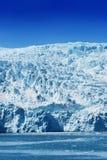 阿拉斯加冰川hubbard 库存照片
