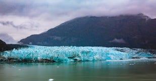 阿拉斯加冰川hubbard 免版税库存照片