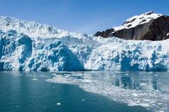 阿拉斯加冰川hubbard seward 免版税库存图片