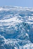阿拉斯加冰川hubbard seward 库存照片