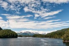 阿拉斯加威廉王子湾冰川视图 库存图片