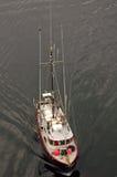 阿拉斯加小船捕鱼sitka 免版税库存照片