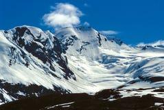 阿拉斯加山 库存照片