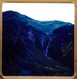 阿拉斯加巡航 35张mm幻灯片1970年` s葡萄酒旅行和家庭远足 库存照片