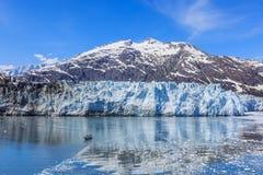 阿拉斯加海湾冰川 库存图片