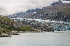 阿拉斯加海湾冰川 免版税库存图片