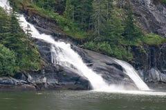 阿拉斯加瀑布 库存照片