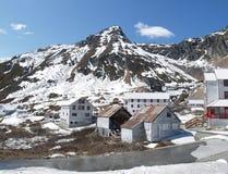 阿拉斯加独立最小值 免版税库存图片