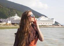 阿拉斯加的假期 免版税图库摄影