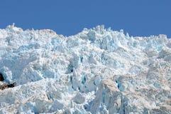 阿拉斯加的冰川冰 图库摄影