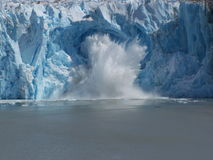 阿拉斯加的冰川 库存图片