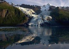 阿拉斯加的冰川 免版税库存图片