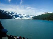 阿拉斯加的冰川 图库摄影