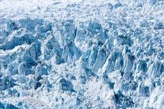 阿拉斯加的冰川 库存照片