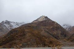 阿拉斯加的山风景 图库摄影