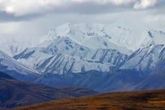 阿拉斯加的山 库存图片