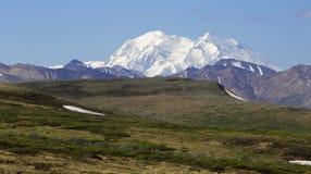 阿拉斯加的山 免版税库存图片