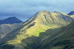 阿拉斯加的岩石横向 库存图片