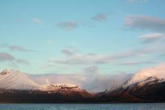 阿拉斯加的横向 图库摄影