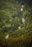 阿拉斯加的河 免版税库存照片