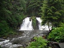 阿拉斯加的瀑布 免版税图库摄影